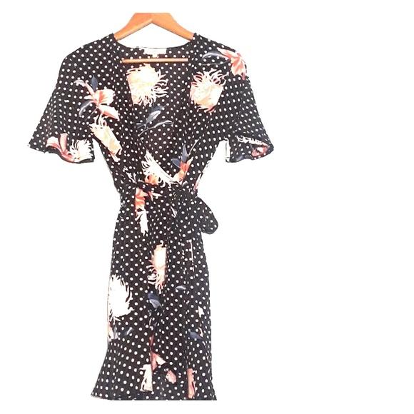 6f22f32db786 Entro Dresses | Kimonoinspired Wrap Around Dress | Poshmark